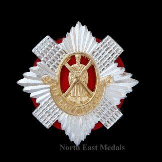 Royal Scots Staybrite Cap Badge