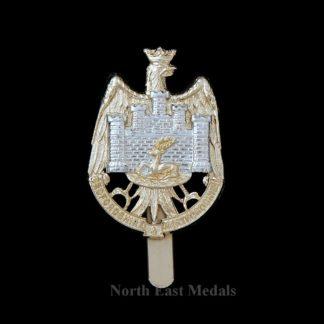 Bedfordshire and Hertfordshire Regiment Territorial Staybrite Cap Badge