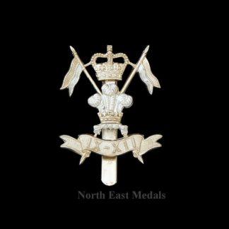 9th/12th Lancers Staybrite Cap Badge