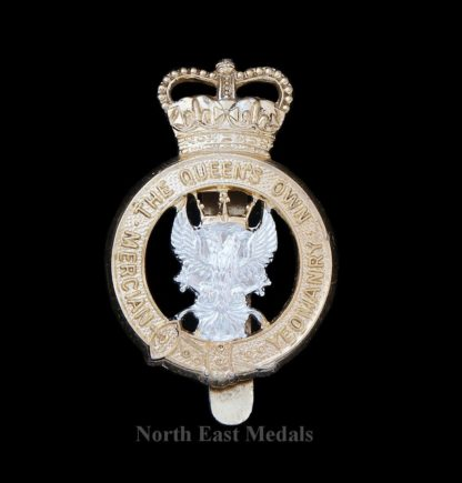 The Queen's Own Mercian Yeomanry Staybrite Cap Badge