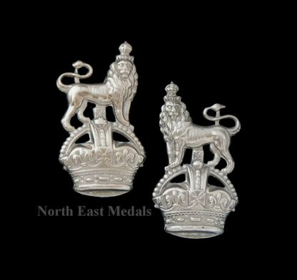 Pair of Admiralty Constabulary Collar Badges