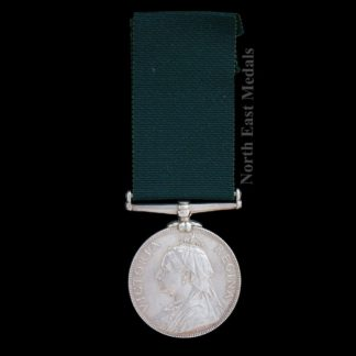 Victorian Volunteer Long Service Medal. Gordon Highlanders