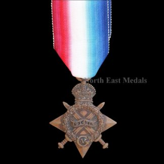 1914-15 Star Medal Private Moore, Essex Regiment