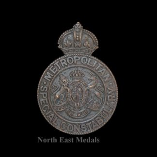Metropolitan Special Constabulary Cap Badge