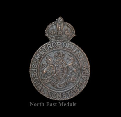 Metropolitan Special Constabulary Cap Badge