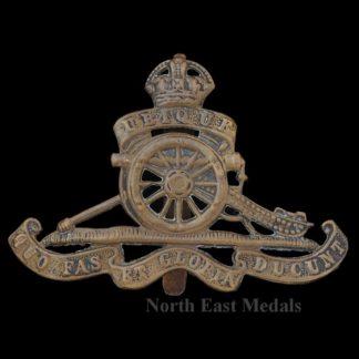 Royal Artillery Cap Badge