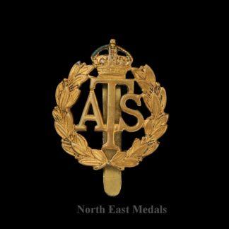 WW2 Auxiliary Territorial ATS Cap Badge