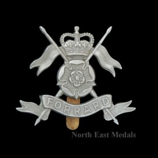 The Queen's Own Yorkshire Yeomanry Cap Badge