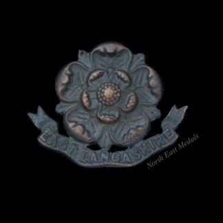 East Lancashire Regiment Officers 'OSD' Collar Badge