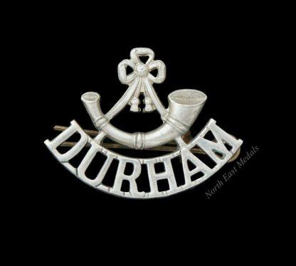 Durham Light Infantry Shoulder Title Badge