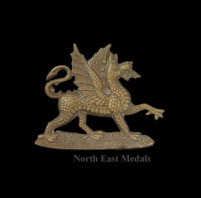 Buffs Royal East Kent Regiment Victorian Collar Badge