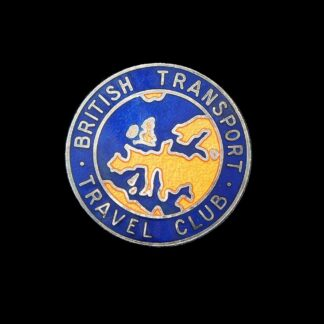 Vintage British Transport Travel Club Lapel Badge