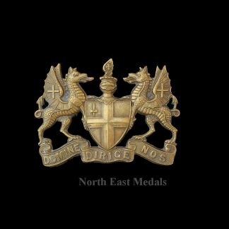 Great War City of London Volunteer Regiment Cap Badge