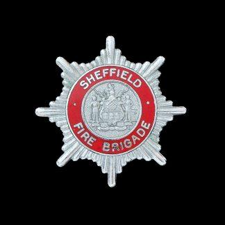 Sheffield Fire Brigade Cap Badge