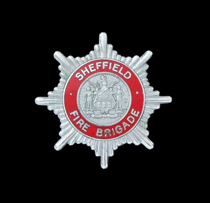 Sheffield Fire Brigade Cap Badge