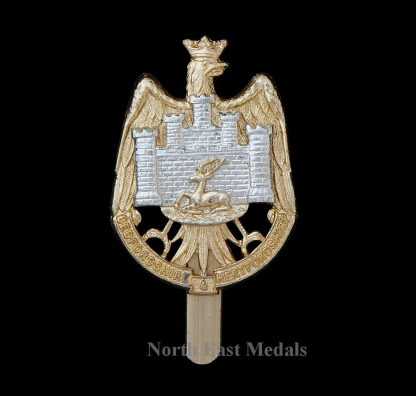 Bedfordshire and Hertfordshire Regiment Staybrite Cap Badge