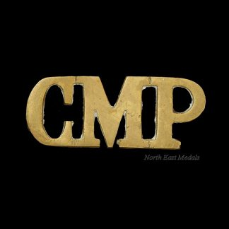 'CMP' Corps of Military Police Shoulder Title Badge