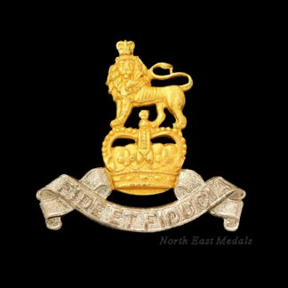 Royal Army Pay Corps Officer's Silver and Gilt Cap Badge