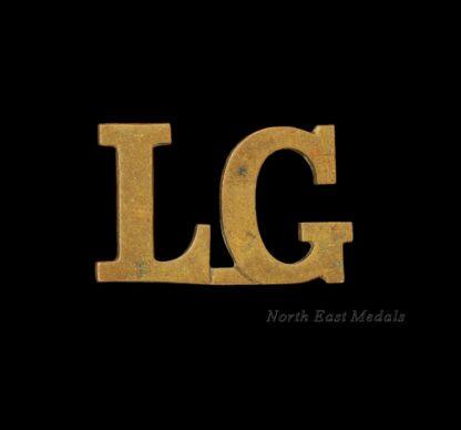 Life Guards Shoulder Title Badge 'LG'