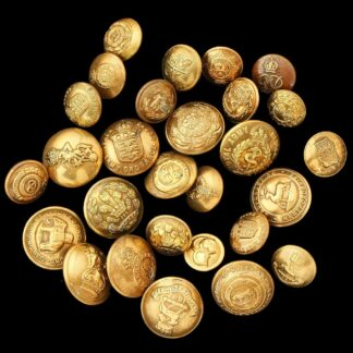 Assortment of Brass Uniform Buttons (Army)