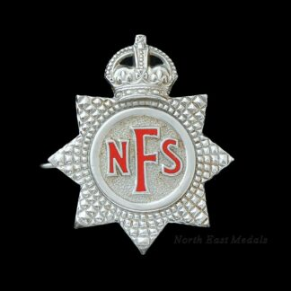 National Fire Service Cap Badge