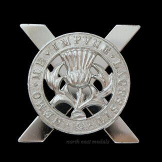 Lowland Brigade Staybrite Cap Badge