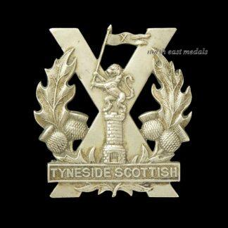 Tyneside Scottish Cap Badge