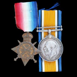 1914-15 Star & British War Medal, Lt/Capt. Gidlow-Jackson