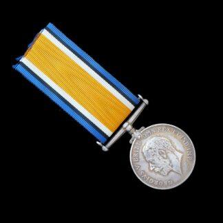 British War Medal Lieutenant Davies Machine Gun Corps