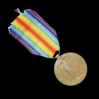 Victory Medal Lieutenant F.B. Gough