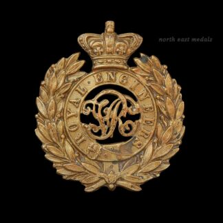 Royal Engineers Victorian Cap Badge