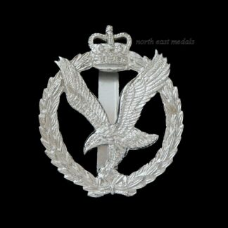Army Air Corps Second Pattern Staybrite Cap Badge