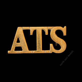 'ATS' Army Technical School (Boys) Shoulder Title Badge