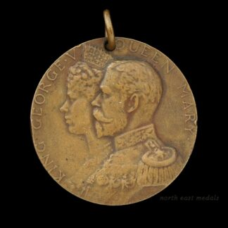 George V & Queen Mary 1919 Great War Peace Medal 'PAX 1919'