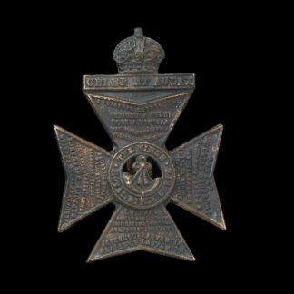 King's Royal Rifle Corps Badge