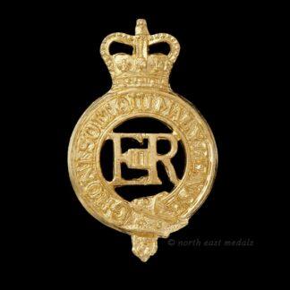 Household Cavalry Staybrite EIIR Cap Badge