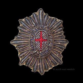 Vintage Bullion Wire Coldstream Guards Rank Star Badge