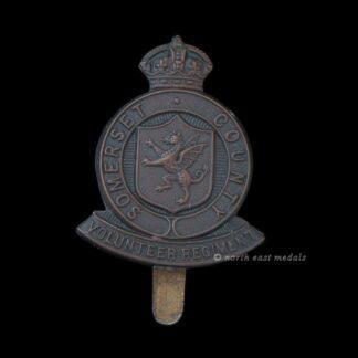 WW1 Somerset County Volunteer Regiment Cap Badge