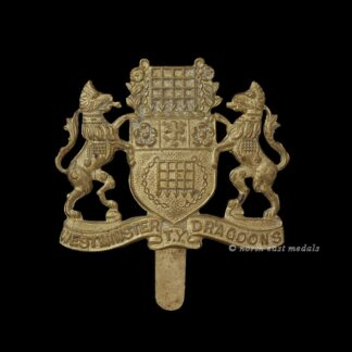 Westminster Dragoons Yeomanry Cap Badge