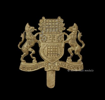 Westminster Dragoons Yeomanry Cap Badge
