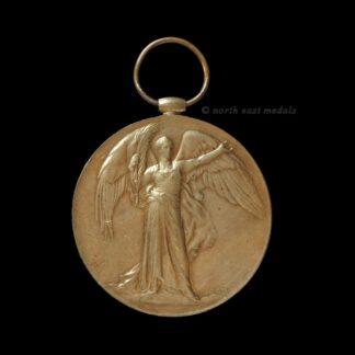 Victory Medal, Private Colgan, Cameronians (Scottish Rifles)