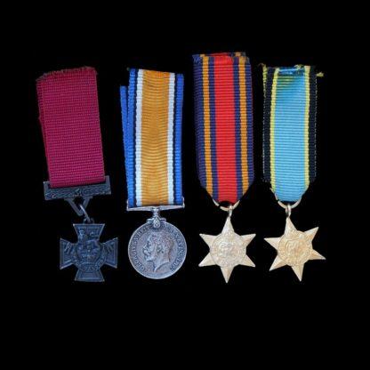 Four Odd Miniature Medals, VC, BWM, ACE & Burma Star