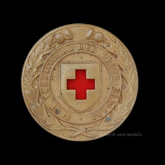 Scottish Territorial Red Cross Brigade Arm Badge