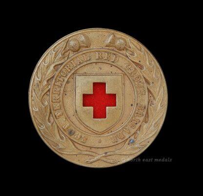 Scottish Territorial Red Cross Brigade Arm Badge