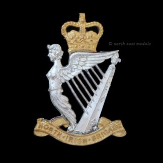North Irish Brigade Officer's Cap Badge