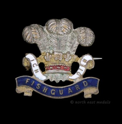 Pembrokeshire Yeomanry Sweetheart Brooch