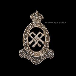 Territorial Army Nursing Service Badge