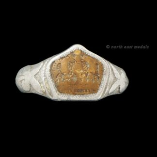 Great War German Trench Art Finger Ring
