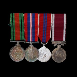 Mounted Group of Four Miniature Medals