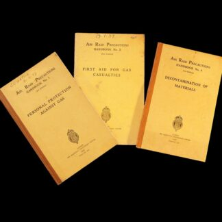 ARP Air Raid Precautions Handbooks